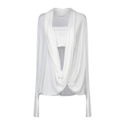 リビアナ コンティ LIVIANA CONTI T シャツ ホワイト S レーヨン 100% T シャツ