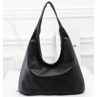 送料無料: トートバッグ 手提げバッグ ショルダーバッグ レディース 高品質レザー 黒 鞄 小物入れ