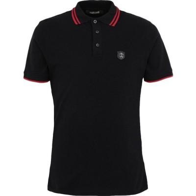 ロベルト カヴァリ ROBERTO CAVALLI メンズ ポロシャツ トップス polo shirt Black