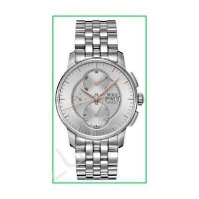 Mido Baroncelli II Silver Dial Stainless Steel Men's Watch M86074101 並行輸入品