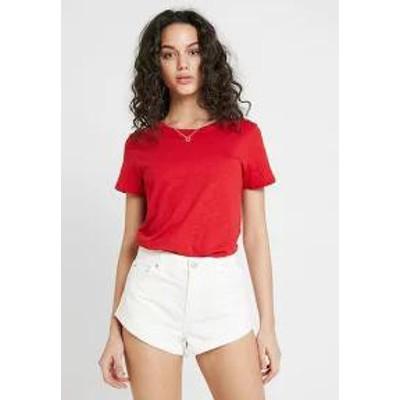 Cotton On レディーストップス Cotton On THE CREW - Print T-shirt - scarlet sage scarlet sa