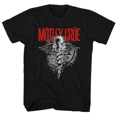 MOTLEY CRUE モトリークルー (結成40周年 ) - DR FEELGOOD / Tシャツ / メンズ 【公式 / オフィシャル】(XL)