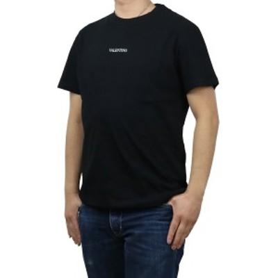 【新品】 ヴァレンティノ VALENTINO メンズ-Tシャツ VV3MG10V 738 0NI ブラック bos-18 apparel-01 メンズ