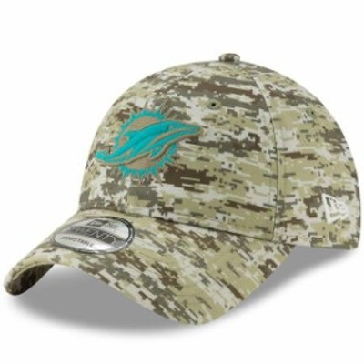 New Era ニュー エラ スポーツ用品  New Era Miami Dolphins Camo Digi 9TWENTY Adjustable Hat