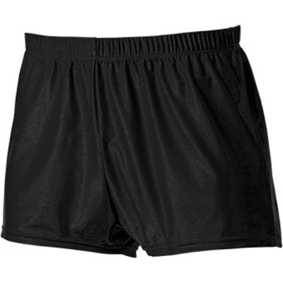 メンズ 体操パンツショート ブラック 110〜150