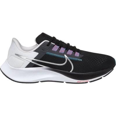 ナイキ Nike メンズ ランニング・ウォーキング エアズーム シューズ・靴 Air Zoom Pegasus 38 Running Shoes Black/Silver