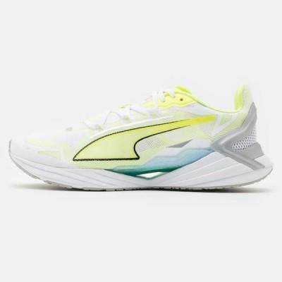 プーマ メンズ スポーツ用品 ULTRARIDE - Neutral running shoes - white/fizzy yellow