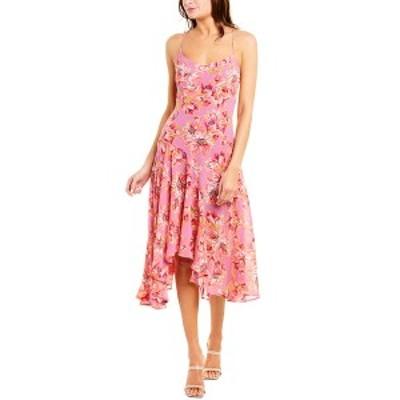 アストラット レディース ワンピース トップス ASTR the Label Janine A-Line Dress lavender & pink floral