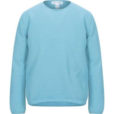 コム デ ギャルソン COMME des GARCONS SHIRT メンズ ニット・セーター トップス sweater Turquoise