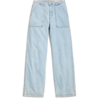 ラグアンドボーン デニム ボトムス レディース Skater High Waist Straight Leg Jeans Cl East En