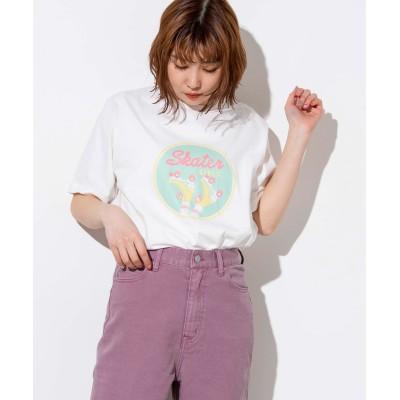 SKATERSプリントTシャツ