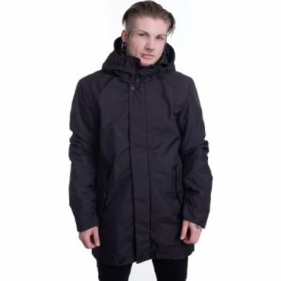 アーバンクラシックス Urban Classics メンズ ジャケット フード アウター - Hooded Long Black - Jacket black