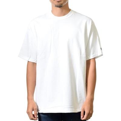 【Champion】 7.0oz  Tシャツ  肉厚 コットンヘリテージ  メンズ 半袖         《ホワイト》