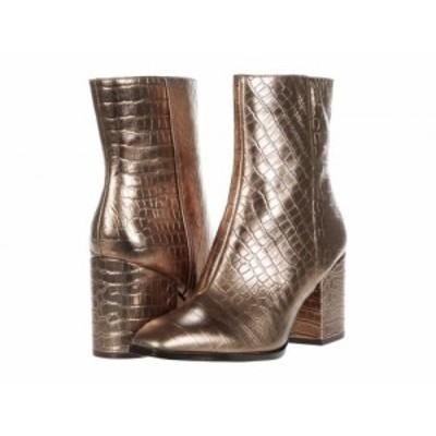 VIONIC バイオニック レディース 女性用 シューズ 靴 ブーツ アンクル ショートブーツ Harper Bronze Croc Metallic【送料無料】