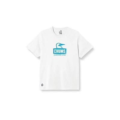 [チャムス] シャツ Booby Face T-Shirt メンズ White/Blue M