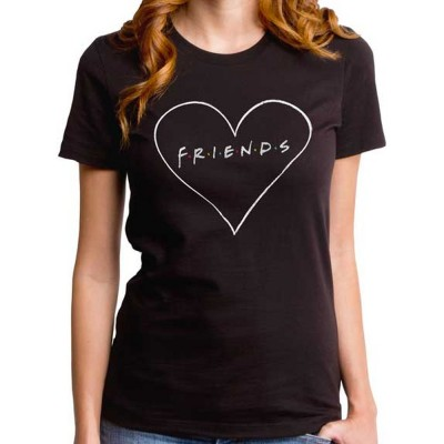 FRIENDS フレンズ - CHALKY HEART / Tシャツ / レディース 【公式 / オフィシャル】(L)
