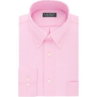ラルフローレン メンズ シャツ トップス Men's Regular-Fit Non-Iron Ultraflex Dress Shirt Pink