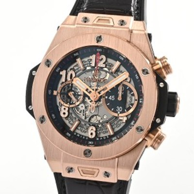 ウブロ ビックバン ウニコ キングゴールド メンズ腕時計 411.OX.1180.RX  スケルトン メンズ 【中古】A品