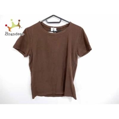 ピッコーネ PICONE 半袖Tシャツ サイズ38 S レディース ブラウン  スペシャル特価 20200605