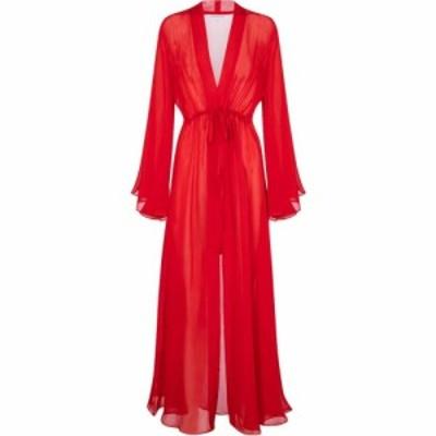 アレクサンドラ ミロ Alexandra Miro レディース パーティードレス カフタンワンピース ワンピース・ドレス betty silk kaftan Red