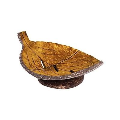 DesirePath 1PC Creative Handmade Natural Wooden Bathroom Soap Dish Box Cont好評販売中
