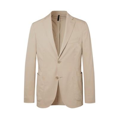 MONTEDORO テーラードジャケット ベージュ 48 ポリエステル 100% テーラードジャケット