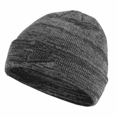 [ネコポス対応]NIKE ナイキ NIKE HEATHER BEANIE  AA8276 060 GRY ニット帽 ビーニー メンズ レディース ユニセックス