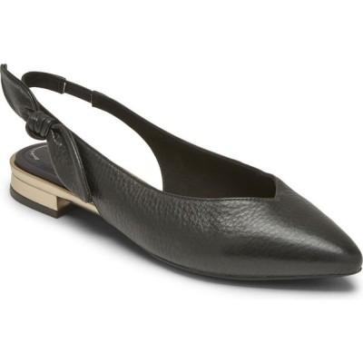 ロックポート Rockport レディース スリッポン・フラット シューズ・靴 Total Motion Zuly Bow Slingback Flats Black