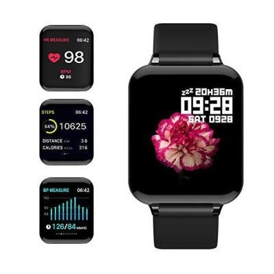"""(新品) feifuns Smart Watch,Fitness Tracker with Heart Rate/Blood Pressure/Oxygen Monitor,1.3"""" Waterproof Health Exercise Watch Sleep M"""