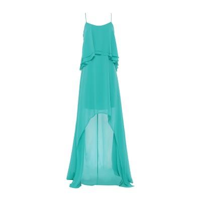 リュー ジョー LIU •JO ミニワンピース&ドレス ターコイズブルー 40 100% ポリエステル ミニワンピース&ドレス