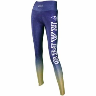 Zubaz ズバズ スポーツ用品  Zubaz Los Angeles Rams Womens Navy Gradient Leggings