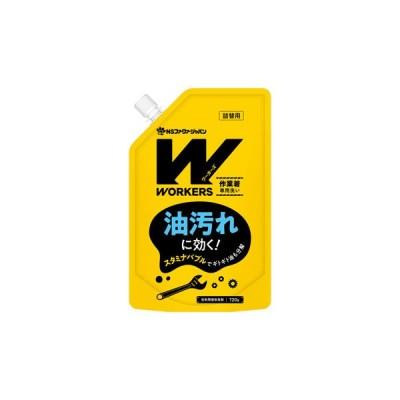 NSファーファ・ジャパン ワーカーズ 作業着専用洗い レギュラー液体洗剤 つめかえ用 (720g) 詰め替え用 洗濯洗剤 WORKERS