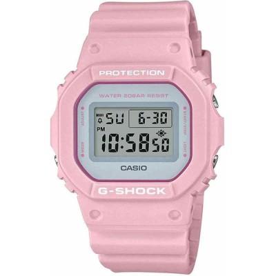 カシオ 腕時計 Casio G-SHOCK DW5600SC-4 Military ミリタリー Light Pink Resin Strap Digital Watch