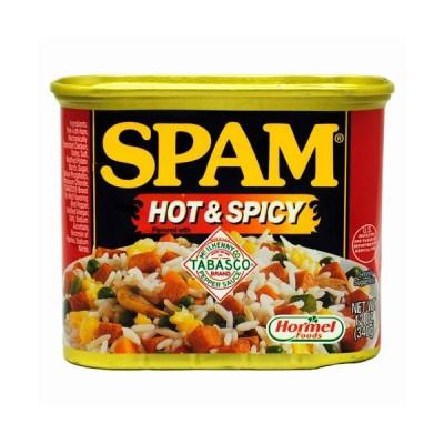 ホーメル スパムSPAM ホット&スパイシー