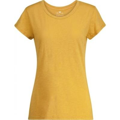 ベルベット グラハム&スペンサー Velvet レディース Tシャツ トップス odelia cotton t-shirt Honey