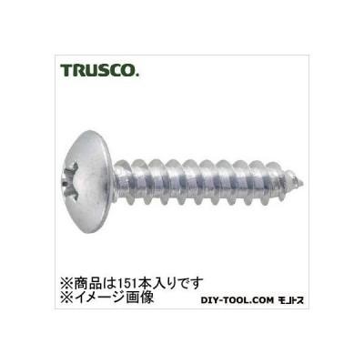 トラスコ(TRUSCO) トラス頭タッピングねじ三価白M3X6151本入 137 x 68 x 28 mm B7420306 151本