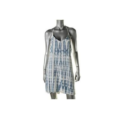 ベラダール ドレス ワンピース Bella Dahl 0426 レディース ブルー Tencel Tie-Dye Racerback カジュアル ドレス M BHFO