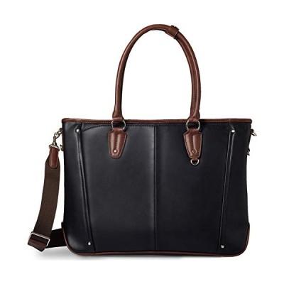 [グレヴィオ] 一流の鞄職人が作る ビジネスバッグ ビジネストートバッグ トートバッグ 大容量 自立 メンズ B4 ブラック