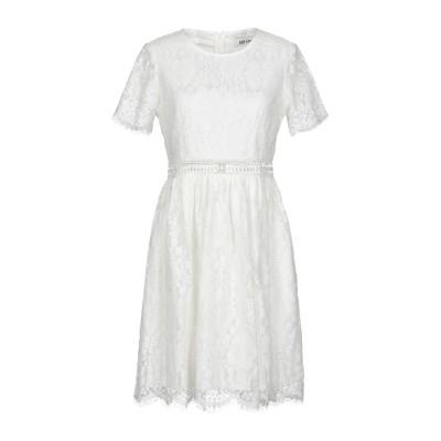 DRY LAKE. ミニワンピース&ドレス ホワイト XS コットン 58% / アセテート 42% ミニワンピース&ドレス