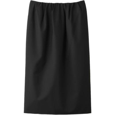 PLAIN PEOPLE プレインピープル ウールトロピカルタイトスカート レディース ブラック 3