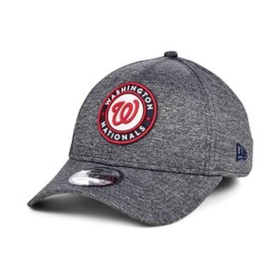 ニューエラ メンズ 帽子 アクセサリー Men's Washington Nationals South Club 39THIRTY Cap Gray