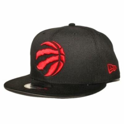 ニューエラ スナップバックキャップ 帽子 NEW ERA 9fifty メンズ レディース NBA トロント ラプターズ フリーサイズ [ bk ]