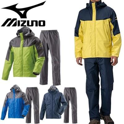 レインウェア メンズ ミズノ mizuno ベルグテック EX ストームセイバー 6 レインスーツ/アウトドア 防水 ジャケット パンツ/A2MG8A01【取寄】【返品不可】