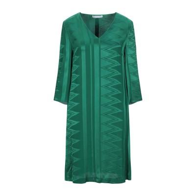 CARACTÈRE ミニワンピース&ドレス グリーン 38 レーヨン 100% ミニワンピース&ドレス