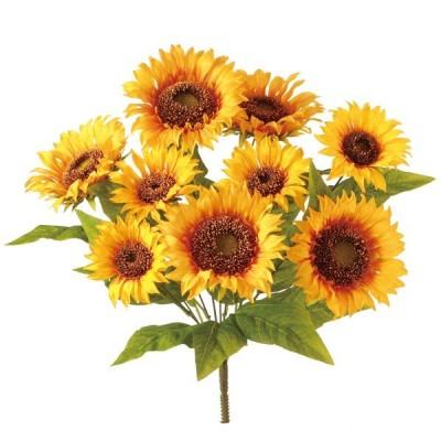 《 造花 》◆とりよせ品◆Viva サンフラワーブッシュx9F