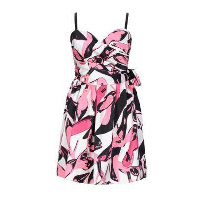 PINKO UNIQUENESS ミニワンピース&ドレス ピンク 42 ポリエステル 100% ミニワンピース&ドレス
