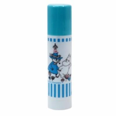 ムーミン スティックのり 消えいろピット XS ライトブルー 北欧 Tombow キャラクター グッズ メール便可