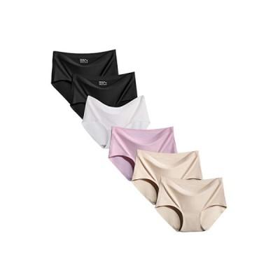 シームレスショーツ レディース シームレス パンツ 下着 肌に優しい すけすけ セクシー 無縫製 レギュラー 通