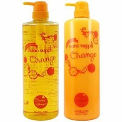 サニープレイス ナノサプリ オレンジ クレンジングシャンプー1000ml&エッセンスコンデ 1000mlセット