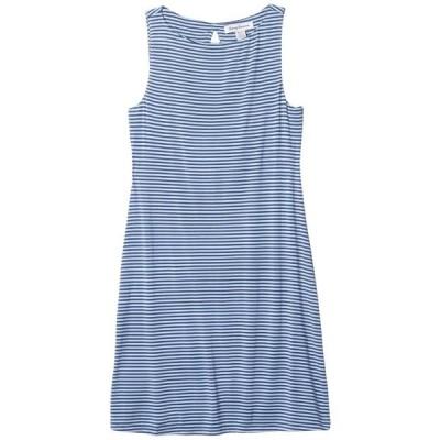 トミーバハマ レディース ドレス  Cassia Stripe Sheath Dress Short Sleeve
